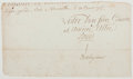 Autographs:Non-American, Comte de Vergennes. Portion of Signed Document. Also with asecretarial signature of Louis XVI. Fair. Vergennes was Louis' F...