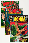 Silver Age (1956-1969):Adventure, Bomba the Jungle Boy #1 and 3-7 Group (DC, 1967-68) Condition: Average VF/NM.... (Total: 10 Comic Books)