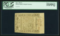 Colonial Notes:Rhode Island, Rhode Island May 1786 £3 PCGS Choice About New 55PPQ.. ...