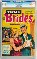 Golden Age (1938-1955):Romance, True Brides' Experiences #8 File Copy (Harvey, 1954) CGC VF/NM 9.0Cream to off-white pages....