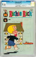 Bronze Age (1970-1979):Humor, Richie Rich #95 File Copy (Harvey, 1970) CGC NM+ 9.6 Off-white to white pages....