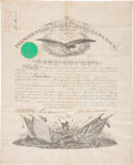 Autographs:U.S. Presidents, Abraham Lincoln Military Appointment Signed...