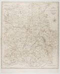 Books:Maps & Atlases, [Map]. Engraved Nineteenth-Century Map of Shropshire. Approx. 21.25 x 17.25 inches. Very good....