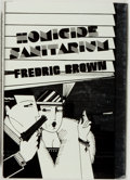Books:Mystery & Detective Fiction, Fredric Brown. SIGNED/LIMITED. Homicide Sanitarium. McMillan, 1984. Limited to 300 numbered and signed copies. N...