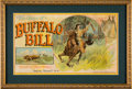 Advertising:Paper Items, Buffalo Bill: Parker Brothers Game from 1898....
