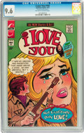 Bronze Age (1970-1979):Romance, I Love You #102 Double Cover (Charlton, 1973) CGC NM+ 9.6 Off-whiteto white pages....