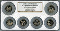 Proof Statehood Quarters, 2009-S 25C Set of Six DC & Territorial Quarters Clad PR70 Ultra Cameo NGC. This set includes: District of Columbia, America... (Total: 6 coins)