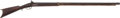 Long Guns:Muzzle loading, Circa 1850 American .62 Percussion Half Stock Rifle...