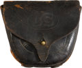 Military & Patriotic:Indian Wars, U.S. Army Model 1872 Dyer Pouch...