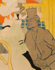 HENRI DE TOULOUSE-LAUTREC (French, 1864-1901) L'Anglais au Moulin Rouge, 1892 Color lithograph 18-5/8 x 14-5/8 inches