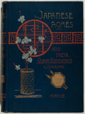 Books:Art & Architecture, Edward S. Morse. Japanese Homes and Their Surroundings. Ticknor, 1886. Quarto. Very good....