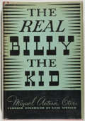Books:Americana & American History, Miguel Antonio Otero. The Real Billy the Kid. Rufus RockwallWilson, 1936. Very good....