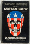 Books:Americana & American History, Hunter S. Thompson. Fear and Loathing: On the Campaign Trail'72. Straight Arrow, 1973. Very good....