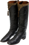 Militaria:Uniforms, Pair of European 19th Century Officers' Boots.... (Total: 2 Items)