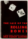Books:Mystery & Detective Fiction, Erle Stanley Gardner. The Case of the Rolling Bones. Morrow,1939. Advance reading copy. Publisher's wrappers an...
