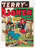 Golden Age (1938-1955):Miscellaneous, Timely Golden Age Humor Comics Group (Timely, 1943).... (Total: 2 Comic Books)