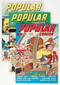 Golden Age (1938-1955):Miscellaneous, Popular Comics Group (Dell, 1943).... (Total: 4 Comic Books)