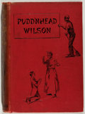 Books:Literature Pre-1900, Mark Twain. Pudd'nhead Wilson. Chatto & Windus, 1894. Very good....