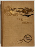Books:Literature Pre-1900, Mark Twain. The £1,000,000 Bank-Note and Other New Stories.Webster, 1893. Very good....