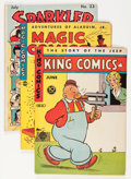 Golden Age (1938-1955):Miscellaneous, Miscellaneous Golden Age Newspaper Strip Reprint Comics Group (Various Publishers, 1943).... (Total: 8 Comic Books)