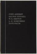 Books:Fiction, John Ashbery, et al. SIGNED/LIMITED. Apparitions. Lord JohnPress, 1981. Limited to 50 numbered and signed copies....
