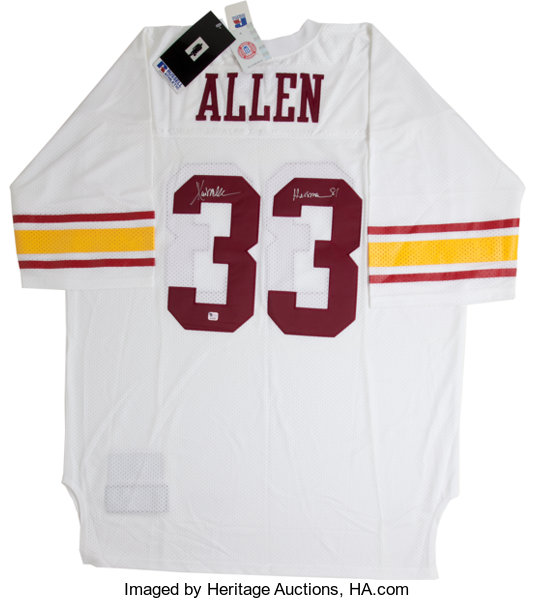 innovative design e7ec1 95a4c O.J. Simpson and Marcus Allen Signed USC Trojans Jerseys Lot ...