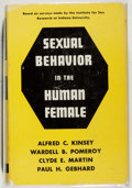 Books:Science & Technology, Alfred C. Kinsey, et al. Sexual Behavior in the Human Female. Saunders, 1953. Very good....