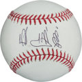 Baseball Collectibles:Balls, Sadaharu Oh Single Signed Baseball....