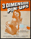 Movie Posters:Bad Girl, 3 Dimension Pin-Ups (Motion Picture Magazine, 1953). PromotionalBook (Multiple Pages). Full of great shots of Mamie Van Dor...