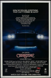 "Christine (Columbia, 1983). One Sheet (27"" X 41"") Advance. Horror. Starring Keith Gordon, John Stockwell, Alex..."