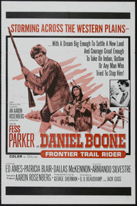 "Daniel Boone, Frontier Trail Rider (20th Century Fox, 1966). One Sheet (27"" X 41""). Adventure. Starring Fess P..."