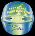 """Movie Posters:Science Fiction, The Day the Earth Stood Still (20th Century Fox, R-2001).Promotional Mask (9"""" X 9""""). Science Fiction. Starring MichaelRenn... (Total: 4 Items)"""