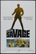 "Movie Posters:Adventure, Doc Savage (Warner Brothers, 1975). One Sheet (27"" X 41""). "").Comic Book Action. Starring Ron Ely, Paul Gleason, William Lu..."