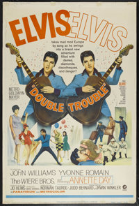 """Double Trouble (MGM, 1966). Poster (40"""" X 60""""). Musical. Starring Elvis Presley, Annette Day, John Williams an..."""