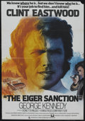 "Movie Posters:Action, The Eiger Sanction (Universal, 1973). British One Sheet (27"" X40""). Action. Starring Eastwood, George Kennedy, Vonetta McGe..."