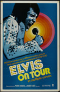 """Movie Posters:Musical, Elvis on Tour (MGM, 1972). One Sheet (27"""" X 41"""") Documentary. Starring Elvis Presley. Directed by Robert Abel and Pierre Adi..."""