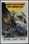 "Movie Posters:Action, The Gauntlet (Warner Brothers, 1977). One Sheet (27"" X 41""). ActionThriller. Starring Eastwood, Sondra Locke, Pat Hingle, W..."