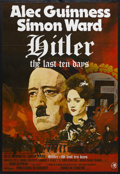 """Movie Posters:War, Hitler: The Last Ten Days (Paramount, 1973). One Sheet (27"""" X 41"""").Biographical Drama. Starring Alec Guinness, Simon Ward, ..."""