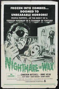 """Horror Lot (Buena Vista, 1981). One Sheets (3) (27"""" X 41""""). """"Nightmare in Wax,"""" """"House of Wax&q..."""