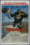 "Movie Posters:Horror, King Kong (Paramount, 1976). One Sheet (27"" X 41""). Action Thriller. Starring Jeff Bridges, Charles Grodin, Jessica Lange, J..."