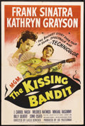 "Movie Posters:Comedy, The Kissing Bandit (MGM, 1948). One Sheet (27"" X 41""). Comedy. Starring Frank Sinatra, Kathryn Grayson, J. Carrol Naish and ..."
