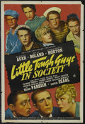 "Movie Posters:Comedy, Little Tough Guys in Society (Universal, 1938). One Sheet (27"" X 41""). Comedy. Starring Mischa Auer, Mary Boland, Edward Eve..."