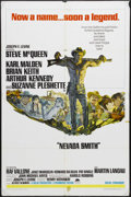 "Movie Posters:Western, Nevada Smith (Paramount, 1966). One Sheet (27"" X 41""). Western. Starring Steve McQueen, Karl Malden, Brian Keith and Arthur ..."