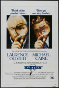 "Movie Posters:Mystery, Sleuth (20th Century Fox, 1972). One Sheet (27"" X 41""). Mystery.Starring Laurence Olivier and Michael Caine. Directed by Jo..."