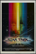 """Movie Posters:Science Fiction, Star Trek: The Motion Picture (Paramount, 1979). One Sheet (27"""" X41"""") Advance. Sci-Fi Adventure. Starring William Shatner, ..."""