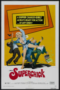 "Movie Posters:Bad Girl, Superchick (Crown-International, 1973). One Sheet (27"" X 41"").Action Comedy. Starring Joyce Jillson, Louis Quinn, Thomas Re..."