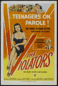 "Movie Posters:Crime, The Violators (Universal, 1957). One Sheet (27"" X 41""). Crime.Starring Arthur O'Connell, Nancy Malone, Fred Beir and Claric..."