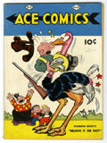 Golden Age (1938-1955):Cartoon Character, Ace Comics #5 (David McKay Publications, 1937) Condition: VG+.Contains some strip reprints. Includes appearances by Ripley'...