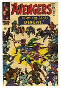 Silver Age (1956-1969):Superhero, The Avengers #24 (Marvel, 1966) Condition: NM. Jack Kirby cover. Don Heck and Dick Ayers art. Overstreet 2006 NM- 9.2 value ...