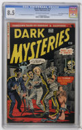 "Golden Age (1938-1955):Horror, Dark Mysteries #13 Davis Crippen (""D"" Copy) pedigree (MasterPublications, 1953) CGC VF+ 8.5 Off-white to white pages. Sever..."